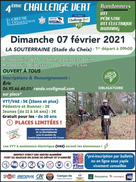 Challenge vert #6 -La Souterraine-